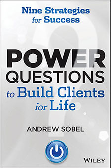 Books by Andrew Power Questions to Build Clients for Life