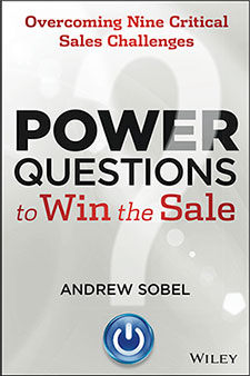 Books by Andrew Power Questions to Win the Sale