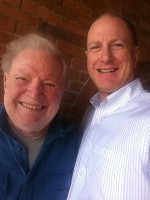 Dad and me-selfie