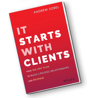 Books by Andrew It Starts With Clients